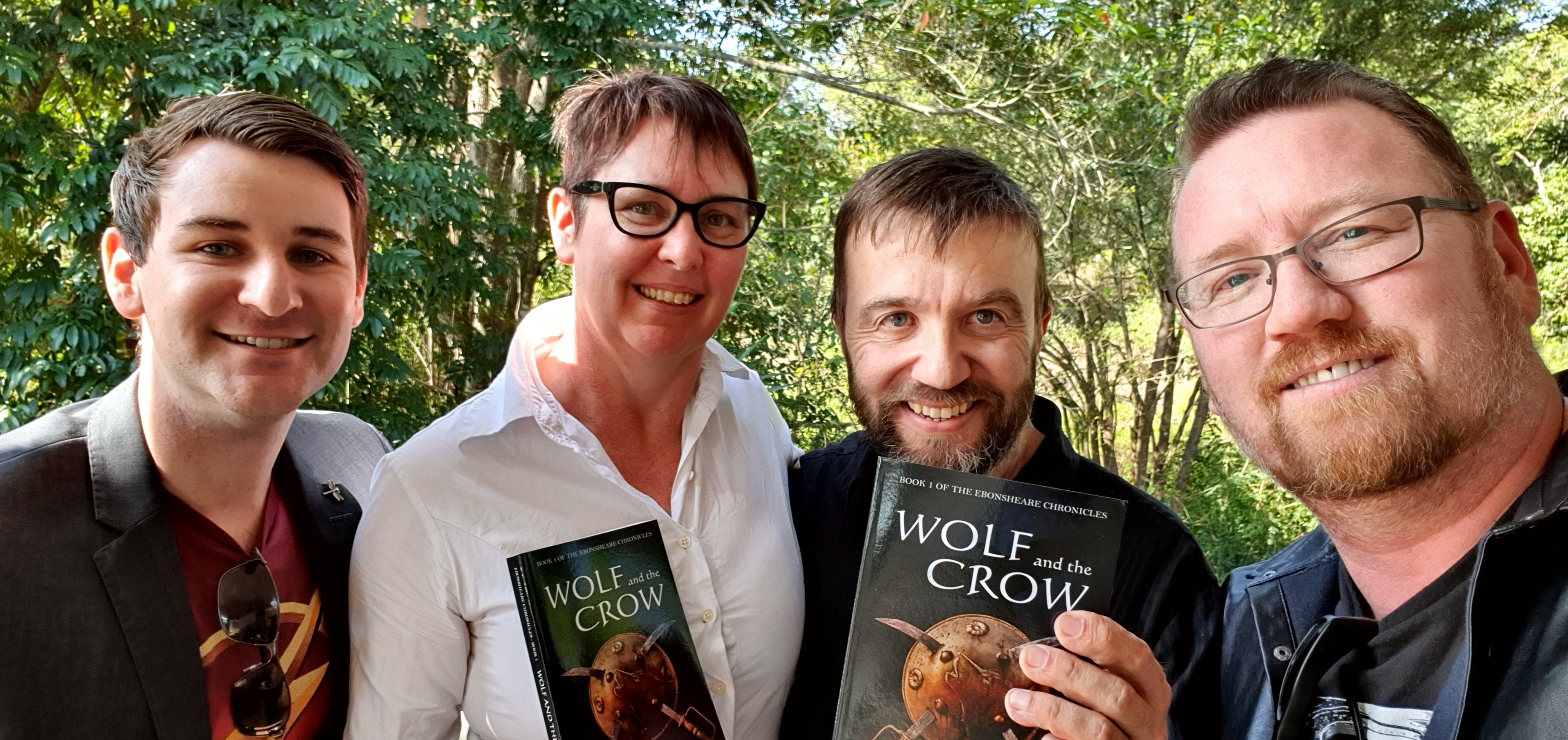 Wolf and the Crow Book Launch